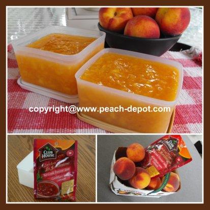 Best Homemade Peach Freezer Jam
