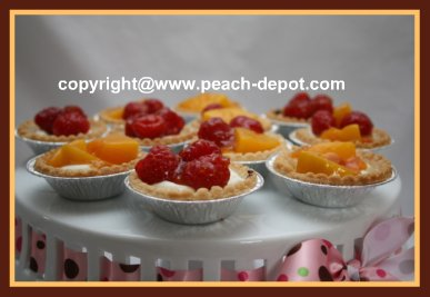 Cream Cheese and Fruit Tarts