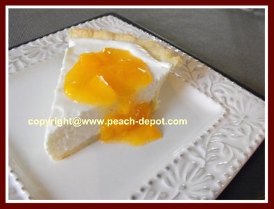 Easy No-Bake Peach Cheesecake Recipe Made