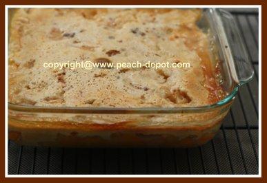 Peach Cobbler with Bisquick Biscuit Mix