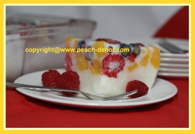 Low Fat Fruit Dessert or Salad with Frozen Fruit