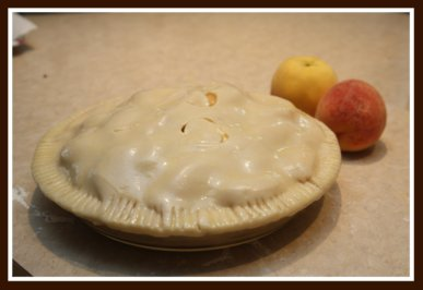 Make a Homemade Peach Pastry Pie with Fresh Peaches
