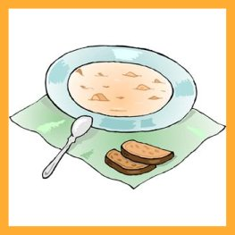 Chilled / Cold Peach Soup for Appetizer, Main Course or Dessert