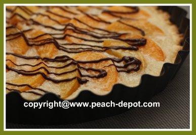 Open Face Peach Pie Recipe