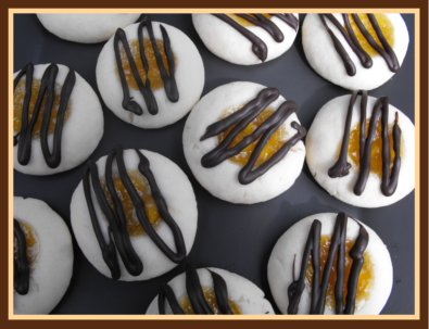 Peach Thumbprint Cookies