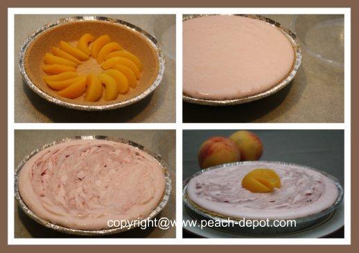 Recipe for peach pie no bake crumb crust pie with fresh for Peach pie recipe with canned peaches