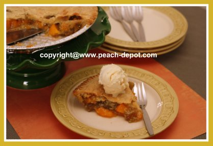 Easy Quick Peach Pie Recipe