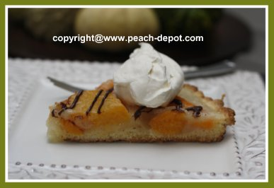 Single Crust Peach Pie Shortbread Crust