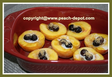 Baked Peaches Oven Baked