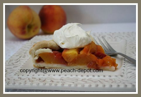 Baking Recipe using Fresh Peaches Peach Tart