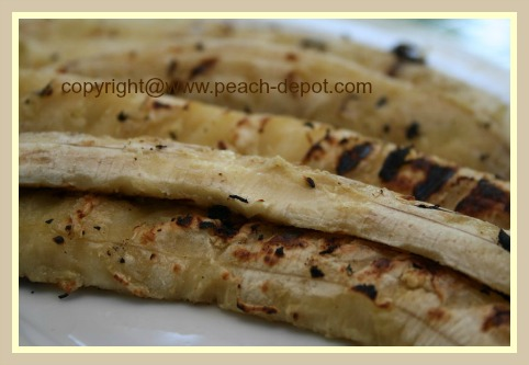 Picture of Grilled /Barbequed Bananas