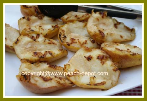 Grill / BBQ Pears