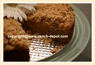 Best Homemade Peach Coffee Cake