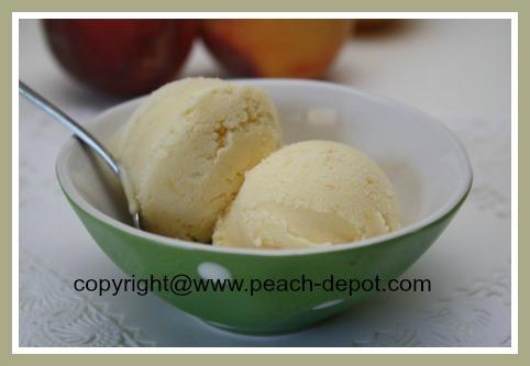 Best Peach Ice Cream Recipe
