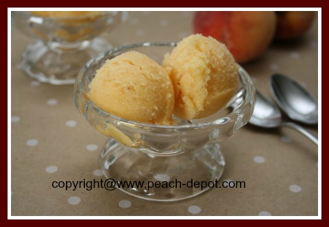 Best Peach Sorbet to Make at Home