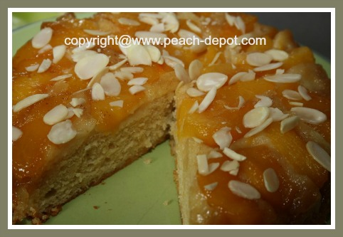 Cake Recipe Made with Fresh Peaches
