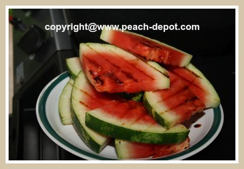 Grilled Watermelon Dessert Idea