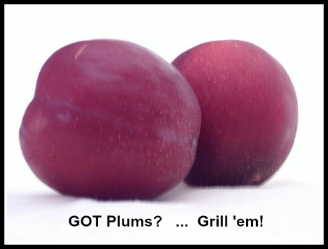 Grilling Plums How to BBQ Fruit/Plums