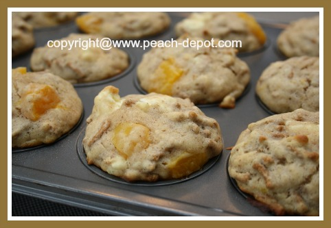 Healthy Peach Muffins Recipe