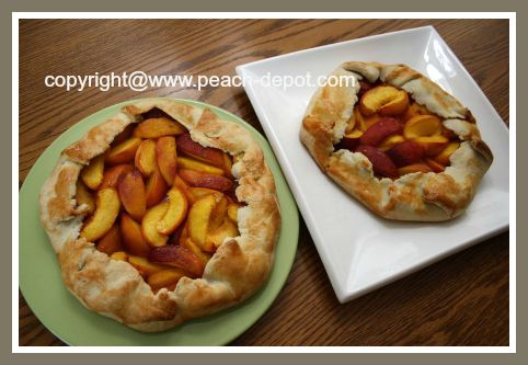 Homemade Peach Tarts