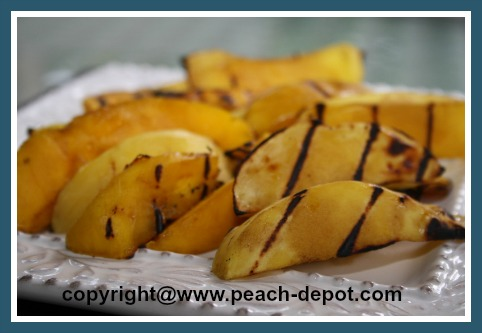 How to Grill or Barbeque Mangos