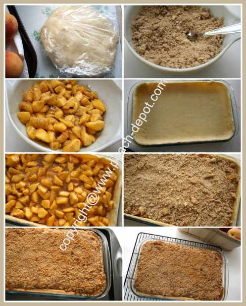 How to Make a Fresh Peach Pie Deep Dish Slab Pie in a 9 x 13 Dish