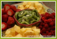 A Fresh Fruit Tray DIY