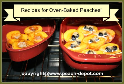Oven Baked Peaches - Recipe How to
