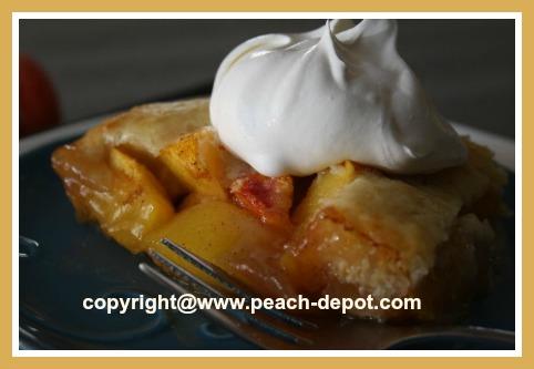 Low Fat Peach Dessert