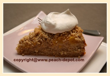 Peach Cake Coffee Cake
