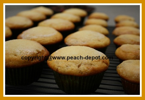 Peach Jam Muffins