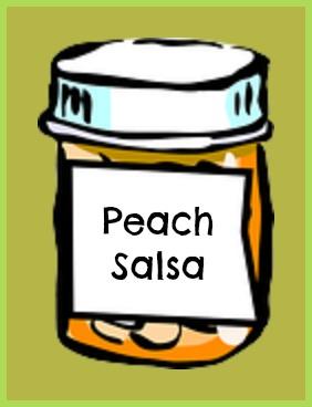 Homemade Peach Salsa Preserves