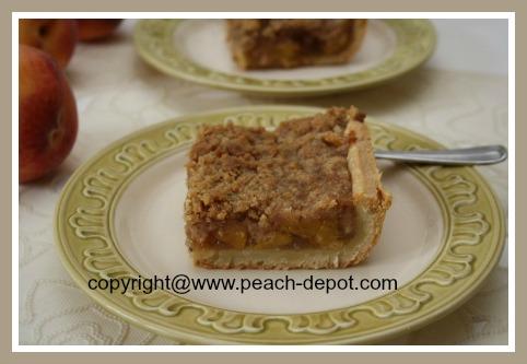 Peach Slab Pie or Deep Dish Pie Recipe