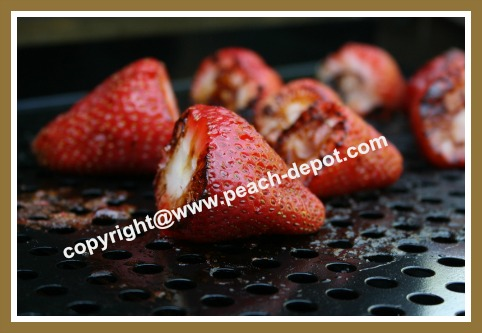 Recipe for Grilling Strawberries