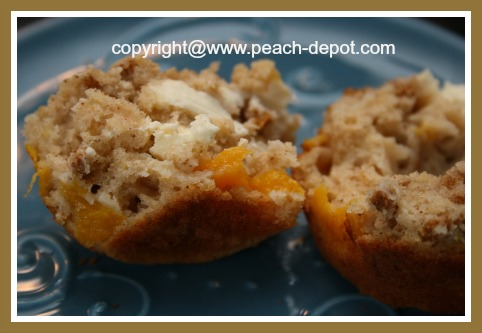 Recipe for Nutritious Peach Muffins