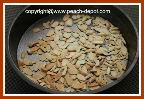 Toasting Sliced or Slivered Almonds in the Oven