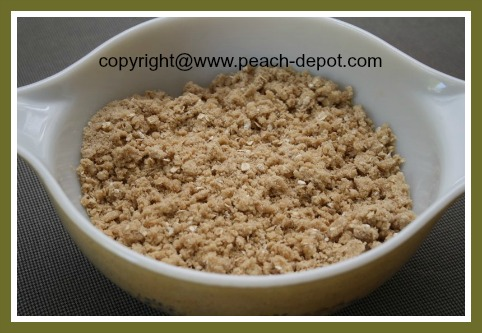 How to Make Oatmeal Topping for Fruit Crumble Recipes