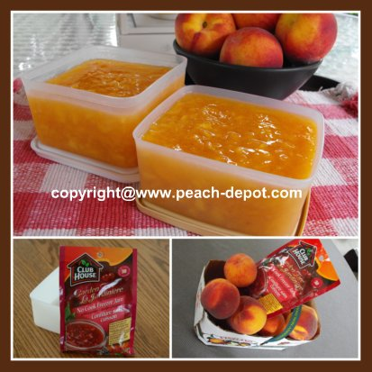 Best Homemade Peach Freezer Jam