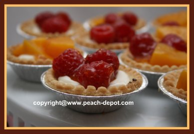 Cream Cheese and Fruit Filled Tarts