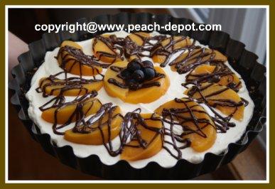 Easy Peach Dessert Idea using CANNED Peaches