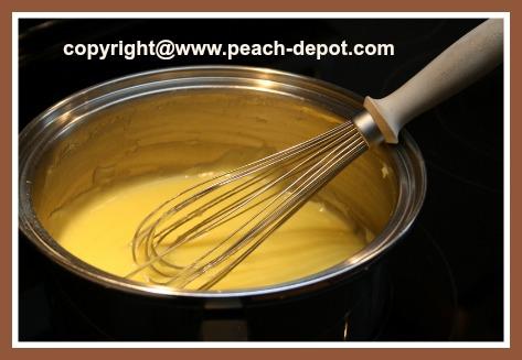 Making Cream for Fruit Salad