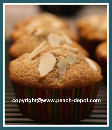 Delicious Peach Muffins Made with Fresh Or Canned Peaches