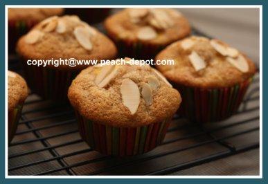 Peach Muffin Recipe using Canned Peaches