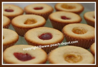 Peach Tarts with Jam Centers Recipe for