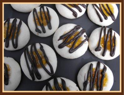 Peach Cookie Recipe - Peach Thumbprint Cookies with Peach Jam Centers