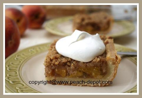 Homemade Deep Dish Peach Pie or Slab Pie