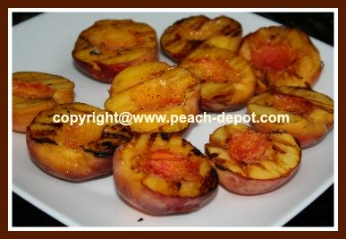 Grilled Peaches How to Grill Peach Fruit