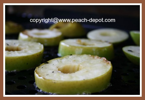 Grilling Apples