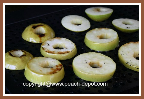 How to Grill Apple Slices