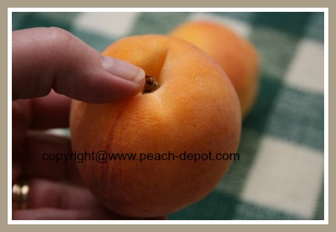 How to Know/Tell if a Peach is Ripe